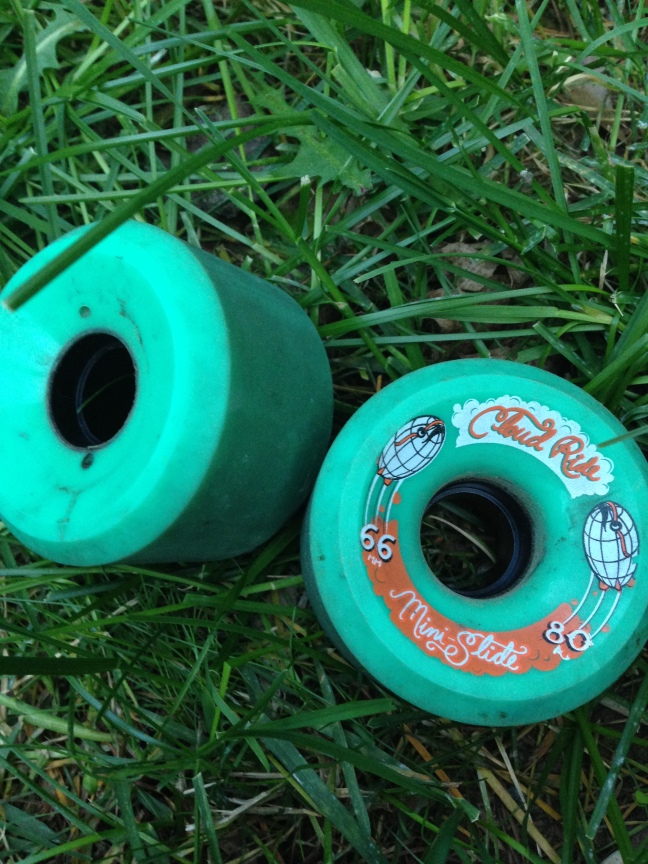 Former wheels: Cloud Ride Mini Slide 66mm 80a